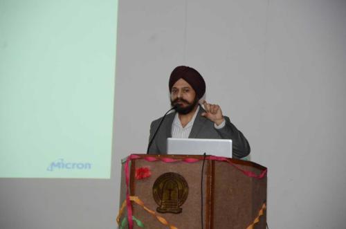 Invited Talk by Dr. Gurtej Sandhu